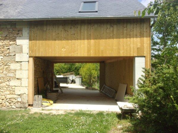 Menuiserie gaucher maisons et agrandissements ossature bois extension boi - Agrandissement bois prix m2 ...