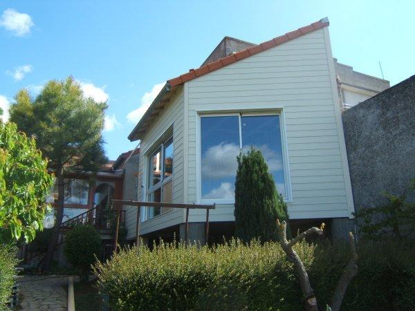 Menuiserie gaucher maisons et agrandissements ossature for Agrandissement pavillon